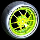 Nipper wheel icon lime