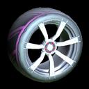 Septem wheel icon pink