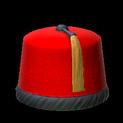 Fez topper icon crimson
