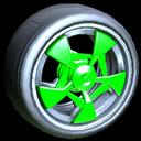 Masato wheel icon forest green