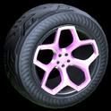 Spyder wheel icon pink