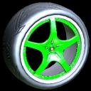 Yuzo wheel icon forest green