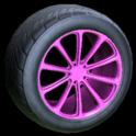 Dieci wheel icon pink