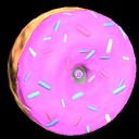Doughnut wheel icon pink
