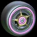 SLK wheel icon pink