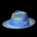Homburg topper icon cobalt