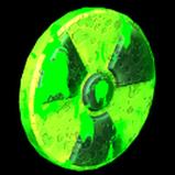 Radioactive antenna icon