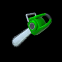 Chainsaw topper icon forest green