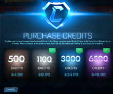 Epic Games Credits Pricing USD image