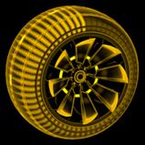 Polyergic Inverted wheel icon