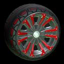 Thread-X2 wheel icon crimson