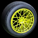 Tunica wheel icon saffron