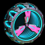 3-Lobe Infinite wheel icon