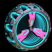3-Lobe Infinite wheel icon