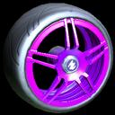 Gaiden wheel icon purple