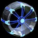Picket Holographic wheel icon cobalt