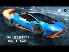 Rocket League® - Lamborghini Huracán STO Trailer