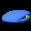 Beret topper icon cobalt