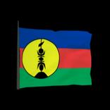New Caledonia antenna icon