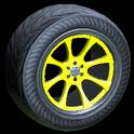 Octavian wheel icon saffron