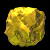 Gold Nugget antenna icon