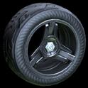 Invader wheel icon black