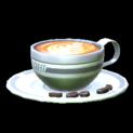 Latte topper icon grey