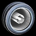 Infinium wheel icon titanium white