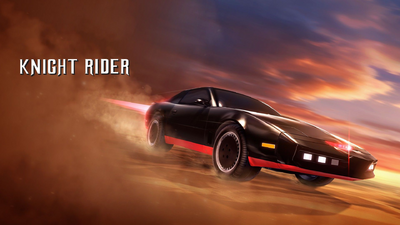 Knight Rider promo art