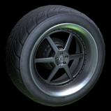 Fast & Furious Nissan Skyline wheel icon black