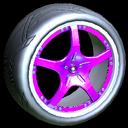 Yuzo wheel icon purple