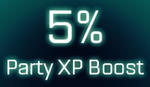 5% Party XP boost icon.png