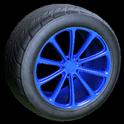 Dieci wheel icon cobalt