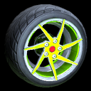Quimby wheel icon lime