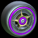 SLK wheel icon purple
