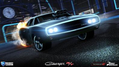 '70 Dodge Charger RT hero art