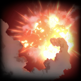 Air Strike goal explosion icon