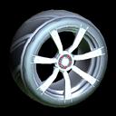 Septem wheel icon titanium white