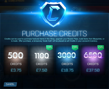 Steam Credits Pricing GBP image