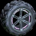 Trahere wheel icon pink