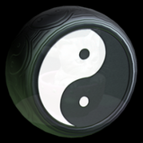 Yin-Yang wheel icon