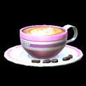 Latte topper icon pink