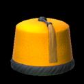 Fez topper icon orange