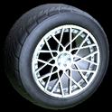 Tunica wheel icon titanium white