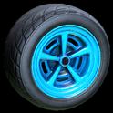 Veloce wheel icon sky blue