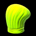 Chefs hat topper icon lime