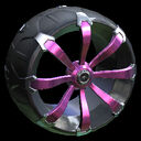 Picket wheel icon pink