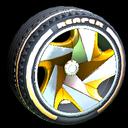 Reaper wheel icon orange