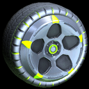 Diomedes wheel icon lime