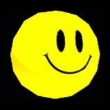 Smiley antenna icon
